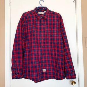 Levis Checkerd Long Sleeves Shirt size XL